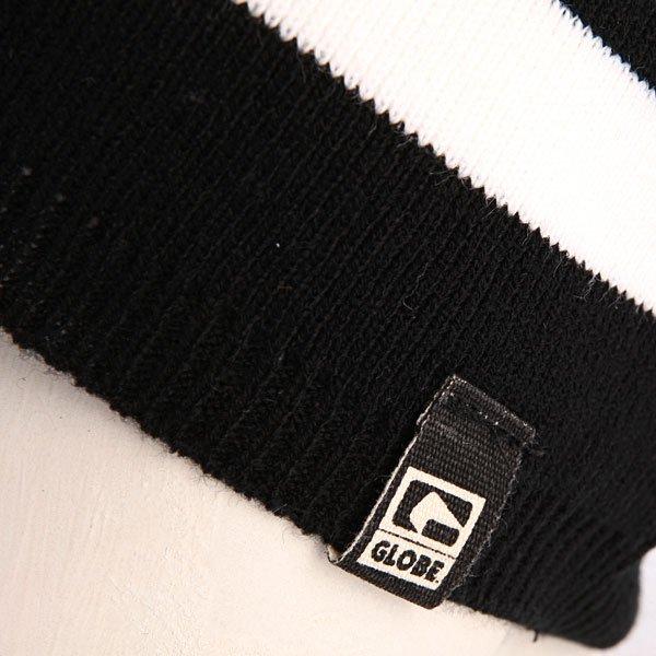 Шапка носок мужская Globe Macktron Beanie Black