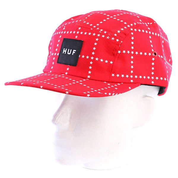 Бейсболка Huf Star Box Volley Red