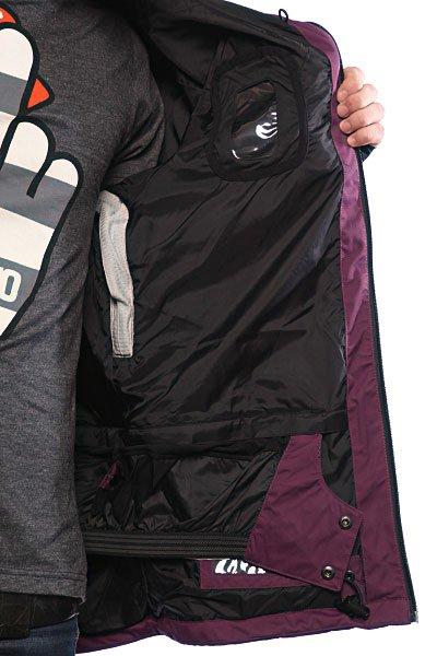 Куртка Thirty Two Shiloh 2.0 Shell Deep Purple