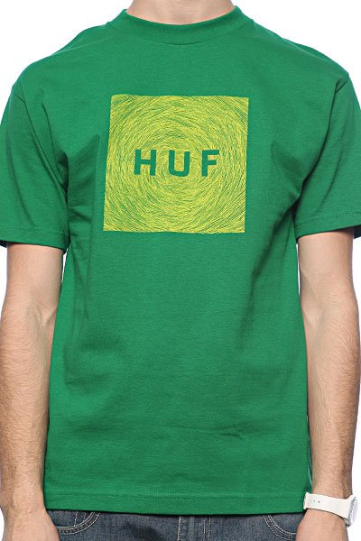 Футболка Huf Hayden Og Logo Kelly