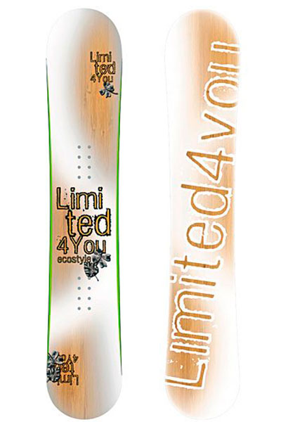 Сноуборд Limited4You Ecostyle Translucent 154 2011