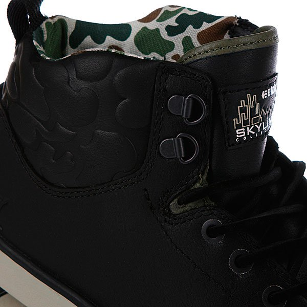 Кеды высокие Etnies Waysayer Black/Olive