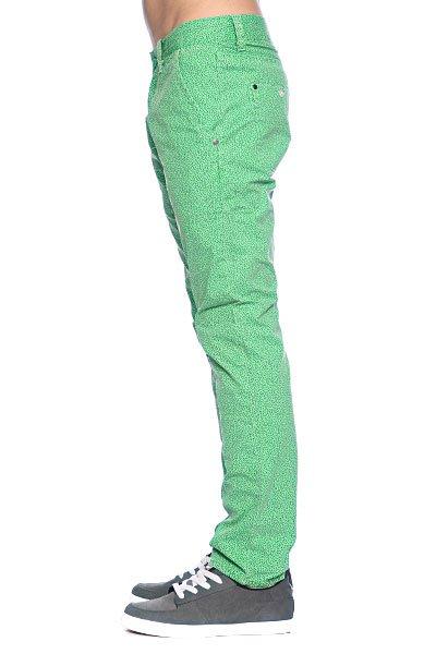 Брюки Globe Wiggle Pant Black/Green