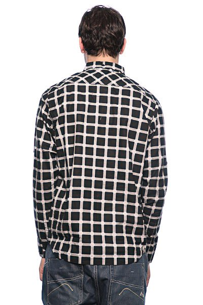 Рубашка в клетку Globe Mueller Shirt Black