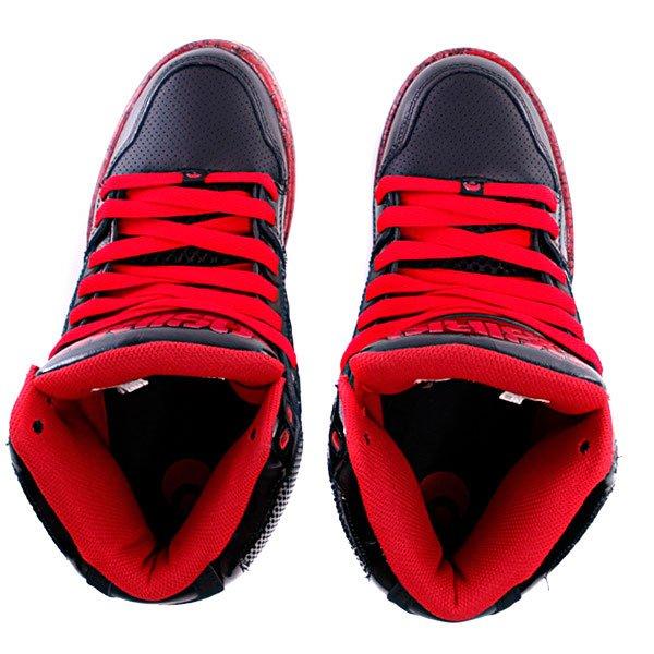 Кеды высокие Osiris Nyc 83 Black/Red/Os50