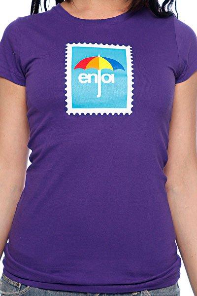 Футболка женская Enjoi Postage Purple