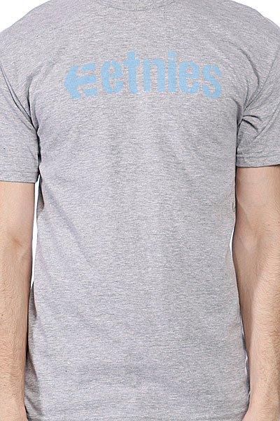 Футболка Etnies Grey - Подарок