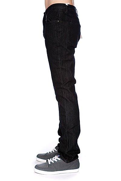 Джинсы узкие мужские зауженные Enjoi Panda Slim Straight Black