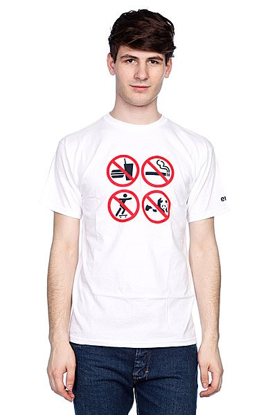 Футболка Enjoi No Fun White