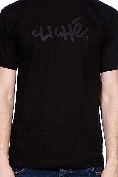 Футболка Cliche Handwritten Classic Black/Black