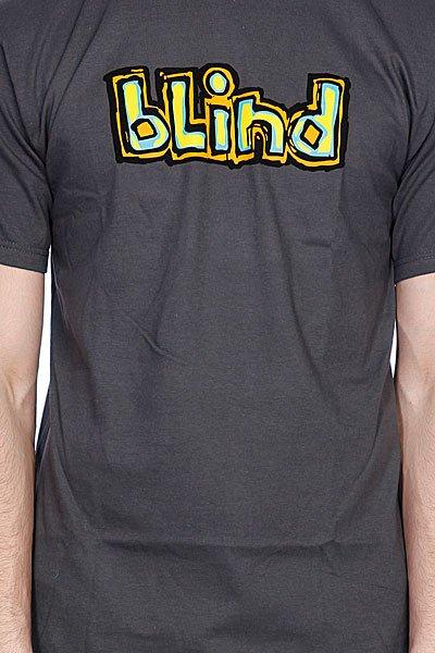 Футболка Blind Og Logo Charcoal