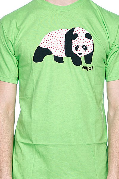 Футболка Enjoi Sick Panda Lime