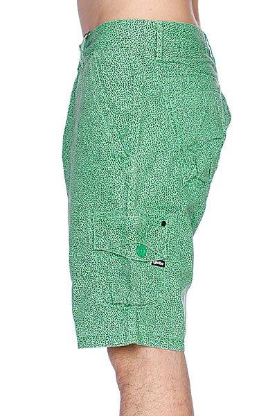 Классические мужские шорты Globe Wiggle Short Black/Green