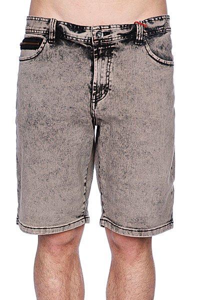Джинсовые мужские шорты Globe Mustaine Walkshort Vintage Black