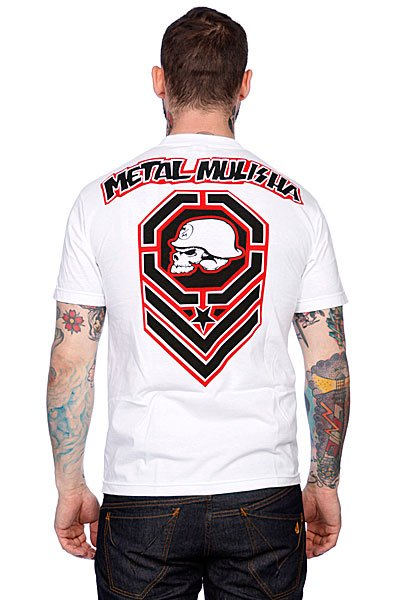 Футболка Metal Mulisha Contender White