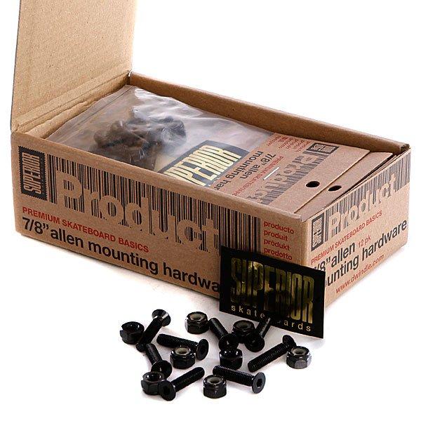 Винты  для скейтборда Superior Mounting Hardware Allen 7/8 (12 Pack)