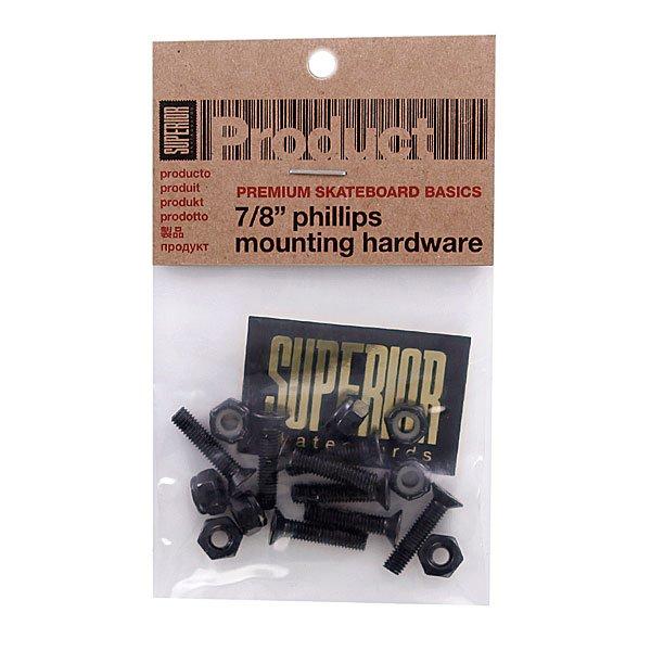 Винты  для скейтборда Superior Phillips Mounting Hardware 7/8 (12 Pack)