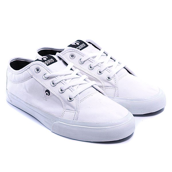 Кеды Osiris Mith White/White/Black