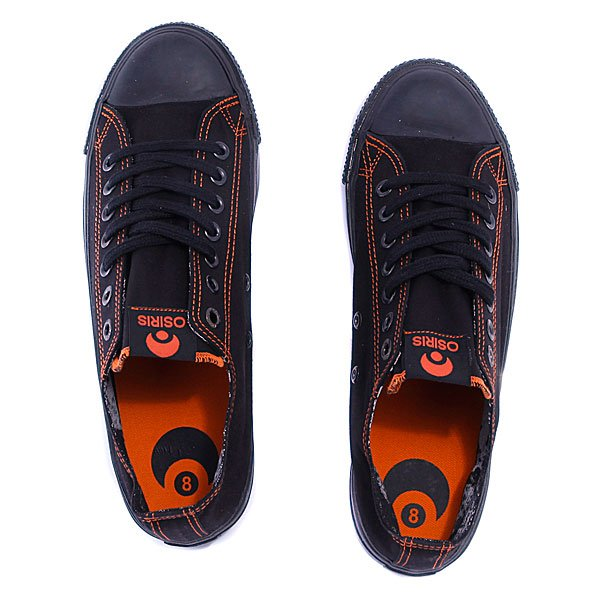 Кеды Osiris 1904 Black/Orange/Black