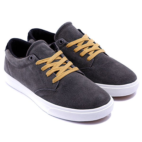 Кеды Globe Lighthouse Grey/Black/Mustard
