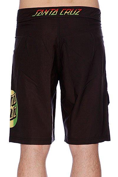 Пляжные мужские шорты Santa Cruz Rasta Dot Black