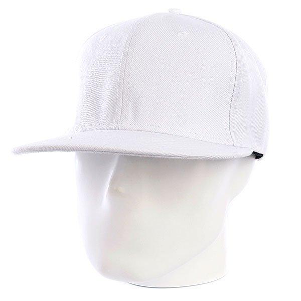 Бейсболка True Spin Snap White