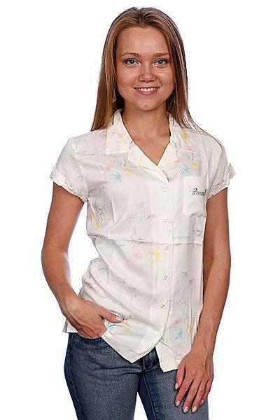 Рубашка женская Animal Bittersweet White
