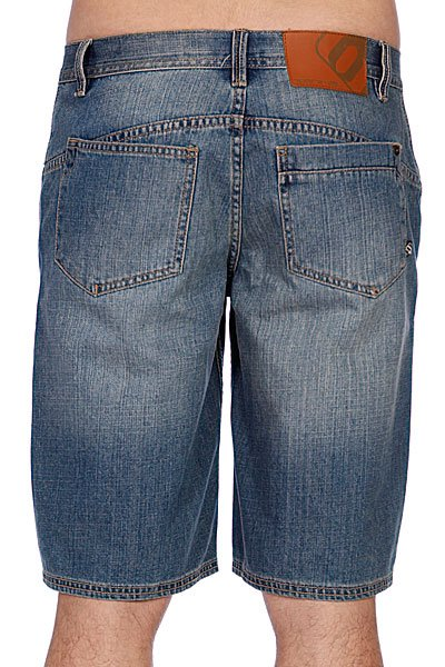 Джинсовые мужские шорты Animal Lukka Mid Denim