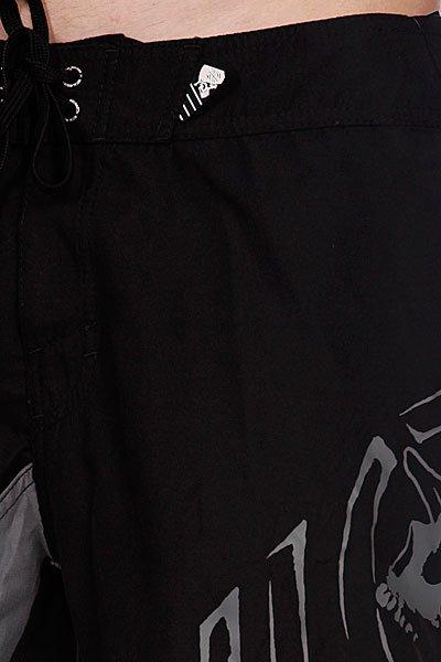 Пляжные мужские шорты Metal Mulisha Lift Black