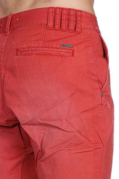 Классические мужские шорты Globe Bruce Walkshort Red