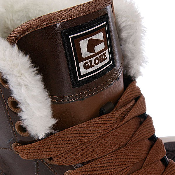 Кеды утепленные Globe Destroyer Fur Brown/Choc