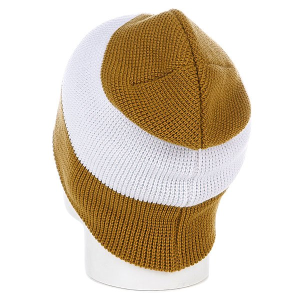 Шапка носок Armour Stripe Beanie Brown/White