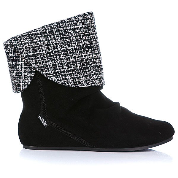 Сапоги женские Etnies Girl Dakota Ws Black/Black/Silver