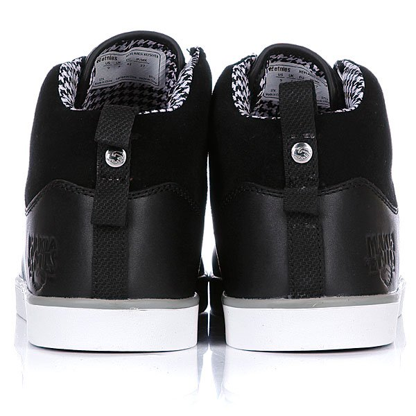 Кеды высокие Etnies X Makia Waysayer Black/Silver