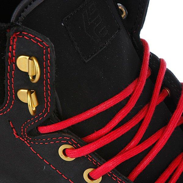 Кеды высокие Etnies Jp Walker Waysayer Black/Red/White