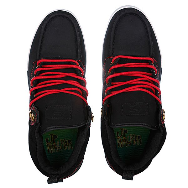 Кеды высокие Etnies Jp Walker Waysayer Black/Red/White