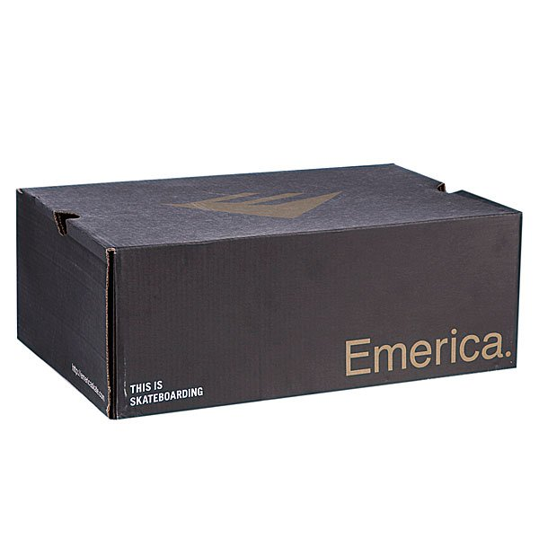 Кеды высокие Emerica High Laced Dark Brown