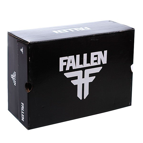 Кеды низкие Fallen Capitol True Black/Grey