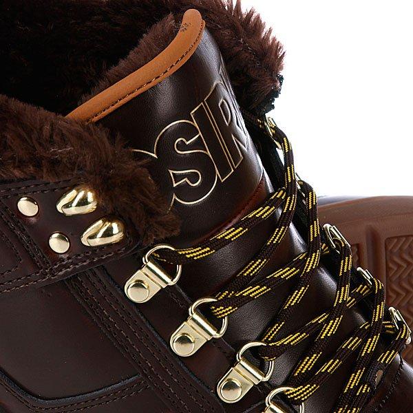 Кеды утепленные Osiris Nyc 83 Mid Shr Brown/Gold/Gum
