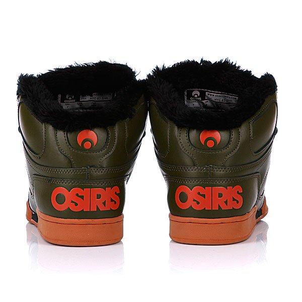 Кеды утепленные Osiris Nyc 83 Shr Bch/Black/Rst