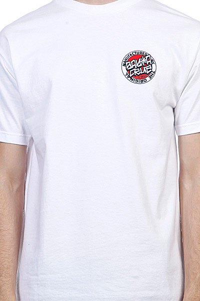 Футболка Santa Cruz Tattoo Hand White