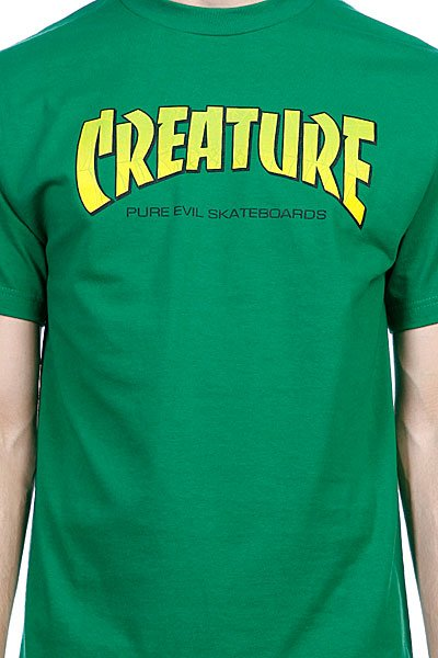 Футболка Creature The Bible Kelly Green