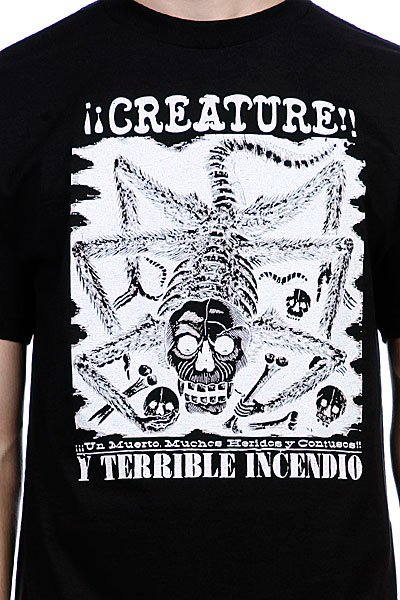 Футболка Creature Incendio Black