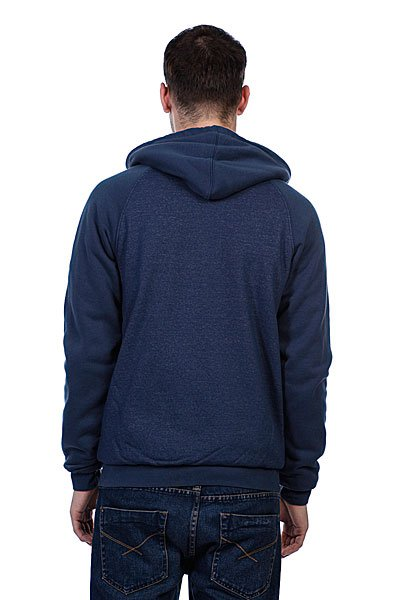 Толстовка Etnies Glasgow Repel Zip Fleece Navy/Heather