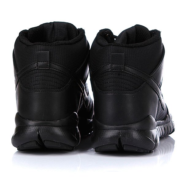 Кеды утепленные Nike Dunk High OMS Black/Black