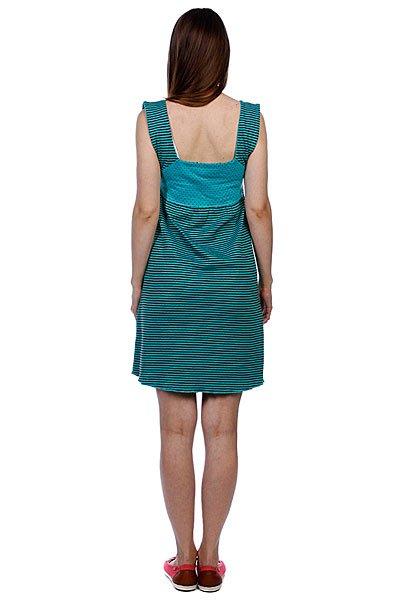 Платье женское Ezekiel Mix It Up Dress Teal