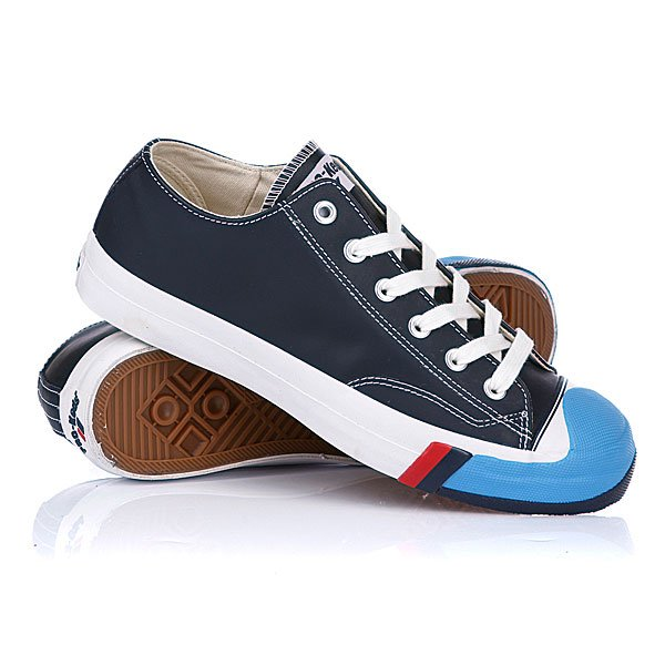 Кеды низкие Keds Court King Leather Navy/Blue