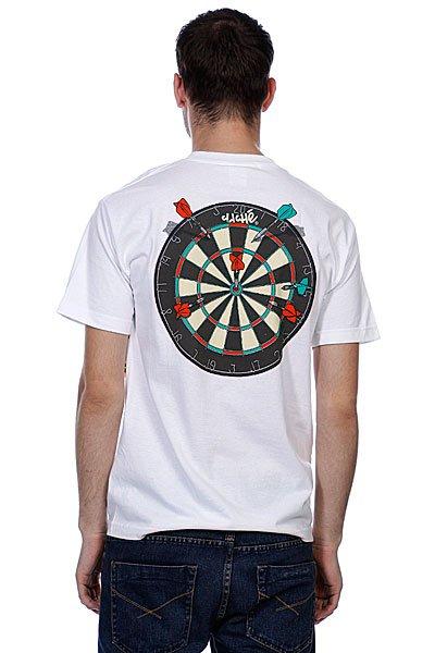 Футболка Cliche Bullseye White