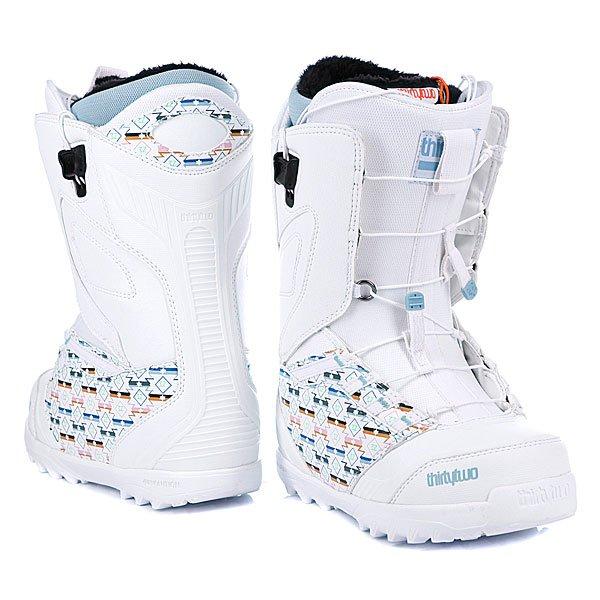 Ботинки для сноуборда женские Thirty Two Lashed Ft WS 12 White