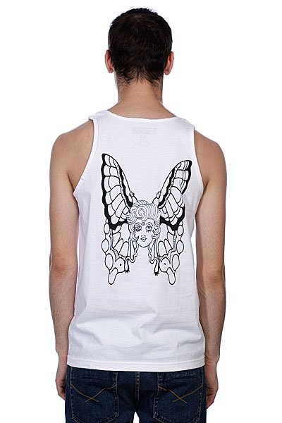 Майка LE Butterfly Tank White
